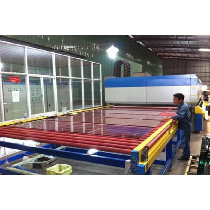 Quy trình xử sản xuất kính cường lực